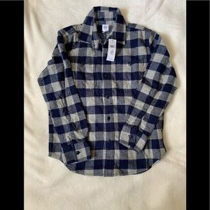 Flannel boys shirt